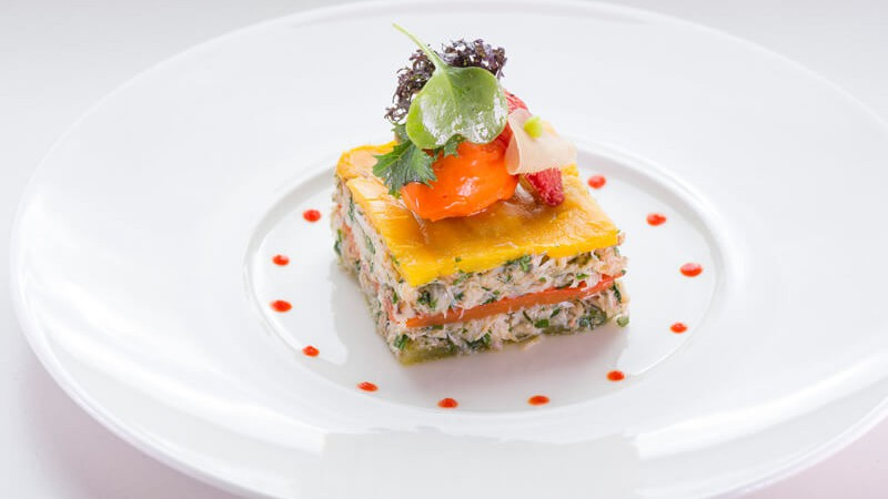 menu gastronomique vaud